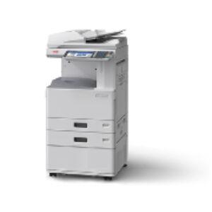 OKI ES9475MFP Cabinet: LED, színes/nyomtat/szkennel/másol, A4: 50 lap/perc (színes&mono), A6R-A3+ papírméret, 1200x600 dpi, duplex, 2 GB RAM, 160 GB HDD, hálózat, USB 2.0, 2*550 lap, 100 lapos kézi adagoló, 100 lapos RADF (duplex ADF), gépasztal, 22,9